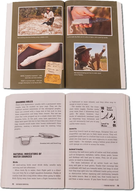 Signed copy of 'OUTBACK SURVIVAL' by Bob Cooper