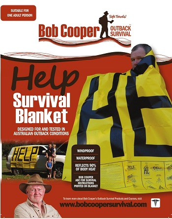 Bob Cooper Help Survival Blanket