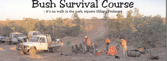 Bush Survival Course