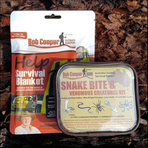 Snake Bite Kit and Blanket